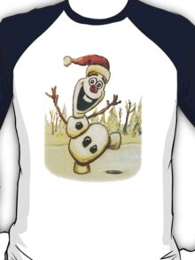 Christmas Olaf from Disney Frozen T-Shirt