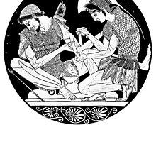 Achilles Patroclus by sopheyrac