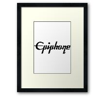 Epiphone Framed Print