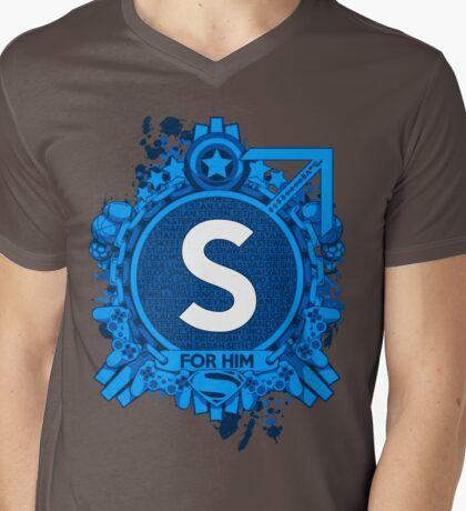 FOR HIM - S Mens V-Neck T-Shirt