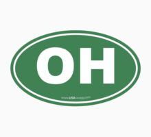 Ohio OH Euro Oval GREEN by USAswagg2