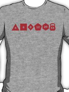 Dice & Kettlebells T-Shirt