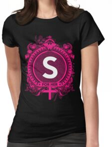 FOR HER -S Womens Fitted T-Shirt