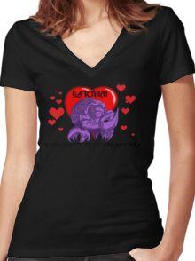 Gotta love 'em! Women's Fitted V-Neck T-Shirt