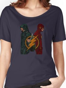 Flarrow - Flash and Arrow Women's Relaxed Fit T-Shirt