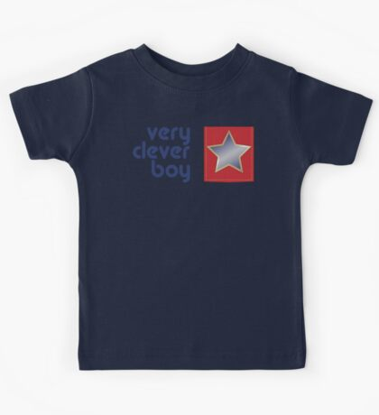 Very Clever Boy Kids Tee