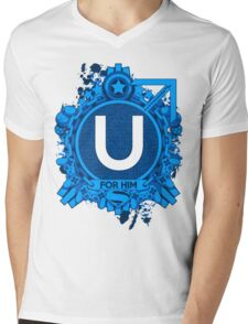 FOR HIM - U Mens V-Neck T-Shirt