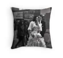 A Glimpse of Intimacy Throw Pillow