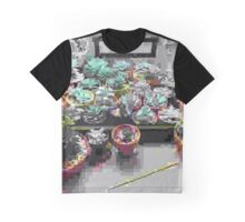 Glitchy Succulents Graphic T-Shirt