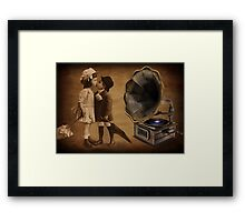 YOU ARE MY SWEETEST LOVE -VIDEO I MADE UP OVER 1,441 VIEWS ON UTUBE ) Framed Print