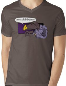 QUIET YOU WHIMPERING WORM! Mens V-Neck T-Shirt