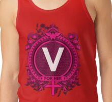 FOR HER - V Tank Top