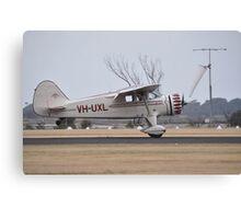 Stinson Reliant @ Point Cook Airshow, Australia 2014 Canvas Print