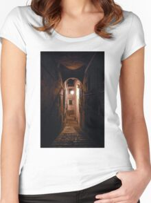 Last gate Women's Fitted Scoop T-Shirt