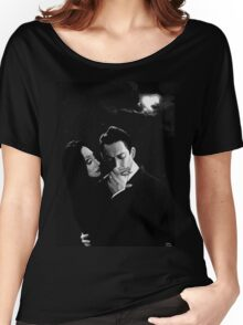 Gomez and Morticia Addams Women's Relaxed Fit T-Shirt