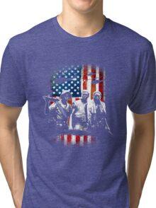 Vietnam Veterans 3 Soldiers Tri-blend T-Shirt