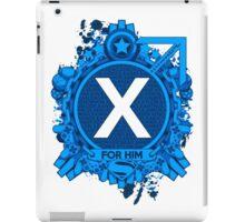 FOR HIM - X iPad Case/Skin