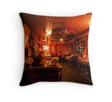 Hotel Kabur Throw Pillow
