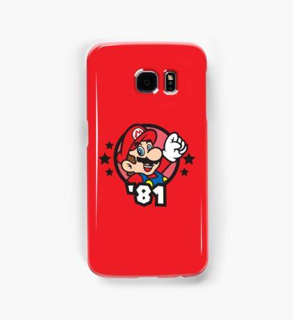 Video Game Heroes - Mario (1981) Samsung Galaxy Case/Skin