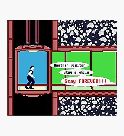 STAY FOREVER!!! Photographic Print
