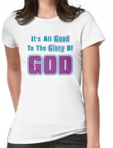 Jesus Christ Son of God Lord Womens Fitted T-Shirt