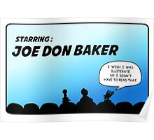 Mystery Science Theater 3000 and Joe Don Baker. A love/hate relationship Poster