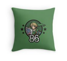 Video Game Heroes - Link (1986) Throw Pillow