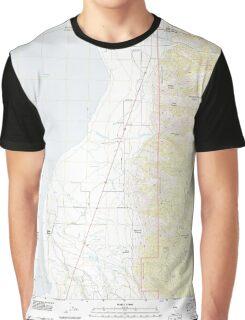 USGS TOPO Map California CA Willow Ranch 20120312 TM geo Graphic T-Shirt