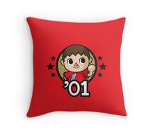 Video Game Heroes - Villager (2001) Throw Pillow