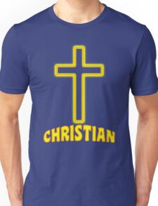 Jesus Christ Son of God Lord Christian Unisex T-Shirt