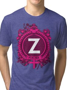 FOR HER - Z Tri-blend T-Shirt