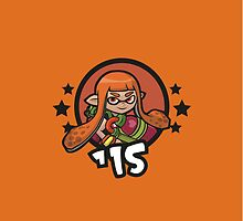 Video Game Heroes - Inkling: Orange Team (2015) by Jarmez