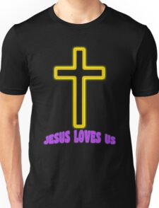 Jesus Christ Son of God Lord Loves Us Unisex T-Shirt