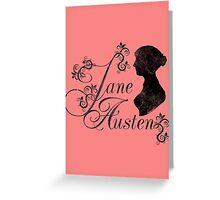 Jane Austen Greeting Card