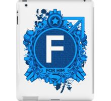 FOR HIM - F iPad Case/Skin