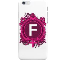 FOR HER - F iPhone Case/Skin