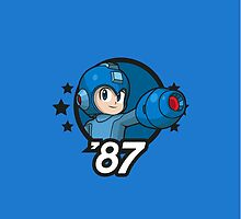 Video Game Heroes - Mega Man (1987) by Jarmez