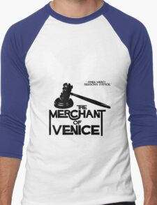 Merchant of Venice - Shakespeare Men's Baseball ¾ T-Shirt