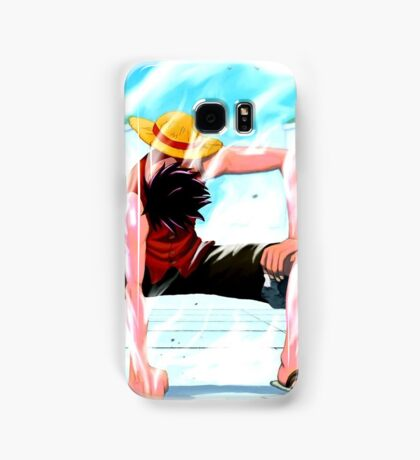 One Piece epic cool monkey d luffy ace epic Samsung Galaxy Case/Skin