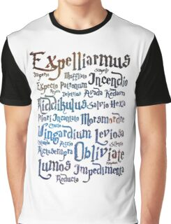 harry potter magic spell  Graphic T-Shirt
