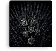 Game of thrones 10 Canvas Print