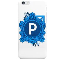 FOR HIM - P iPhone Case/Skin