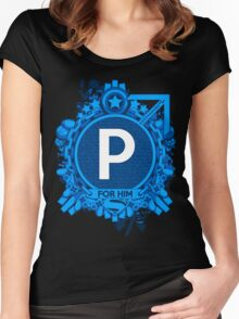 FOR HIM - P Women's Fitted Scoop T-Shirt