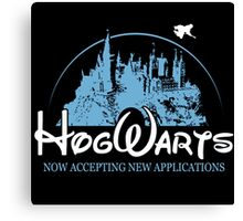 Harry Potter Funny Hogwarts Now Accepting Canvas Print