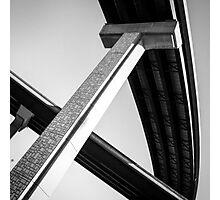 Concrete Streaks  Photographic Print