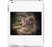 Garden Gargoyle iPad Case/Skin