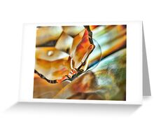 Fire in the Vine Greeting Card