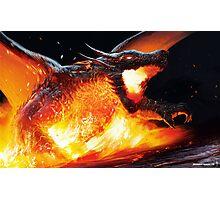 Volcanic Dragon Photographic Print