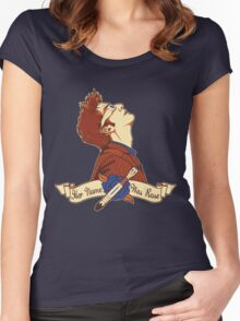 Her Name Was Rose - Doctor Who Women's Fitted Scoop T-Shirt