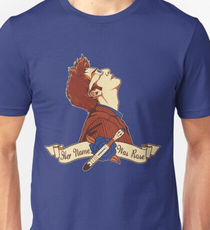 Her Name Was Rose - Doctor Who Unisex T-Shirt